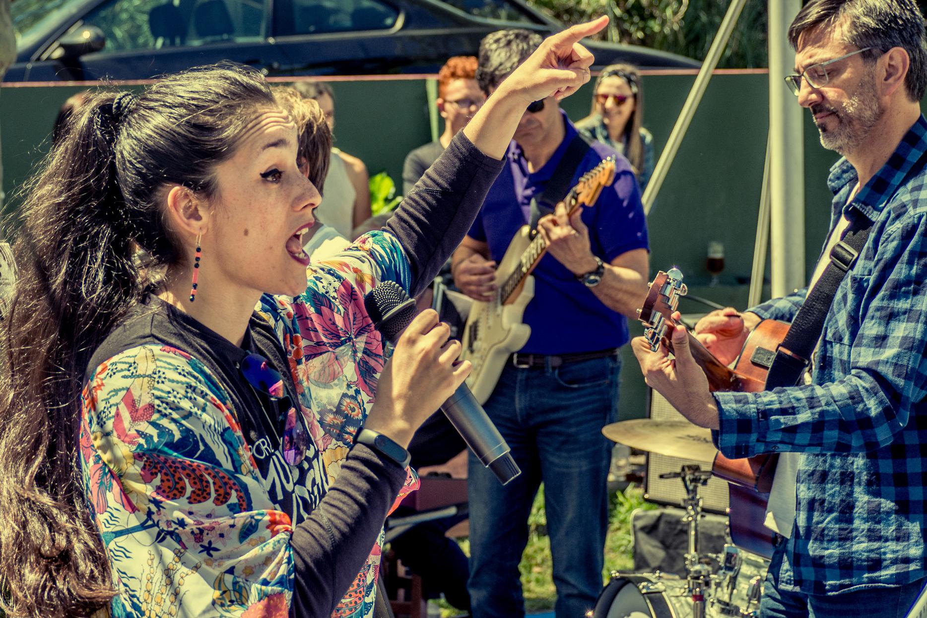 Noelia, Festival Fin de Curso Gain Over
